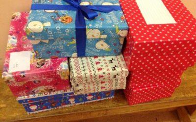 Karácsonyi ajándékgyűjtő akció